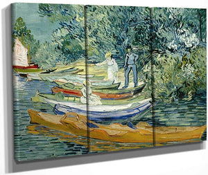 Bank Of The Oise At Auvers By Vincent Van Gogh