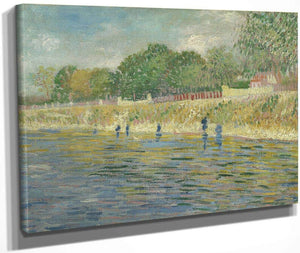 Bank Of The Seine By Vincent Van Gogh
