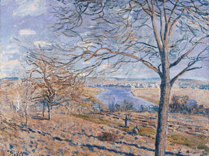 Banks Of The Loing Autumn Effect 1881 By Alfred Sisley