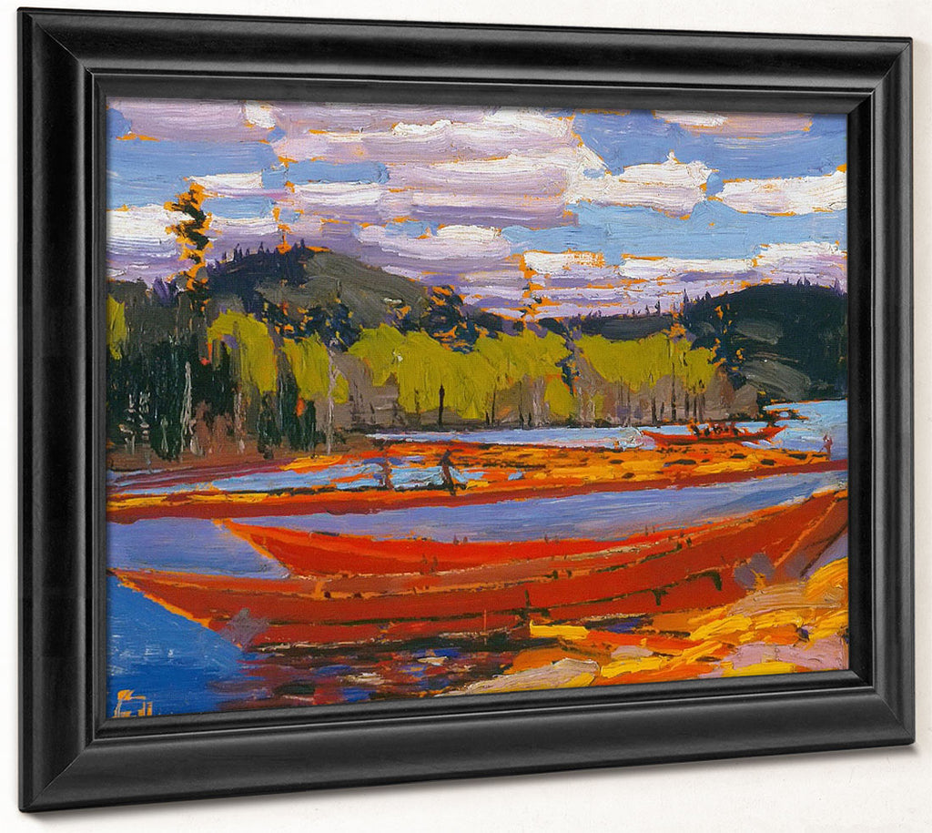Bateaux By Tom Thomson