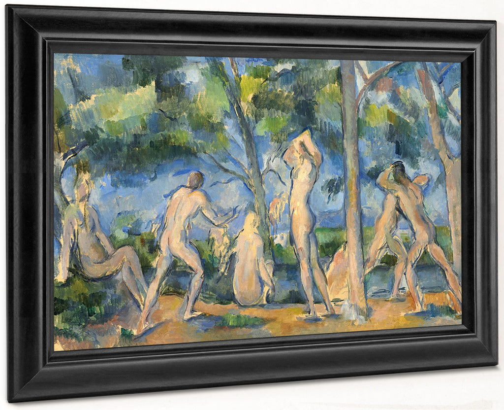 Bathers 1 By Paul Cezanne