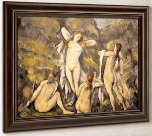 Bathers By Cezanne Paul