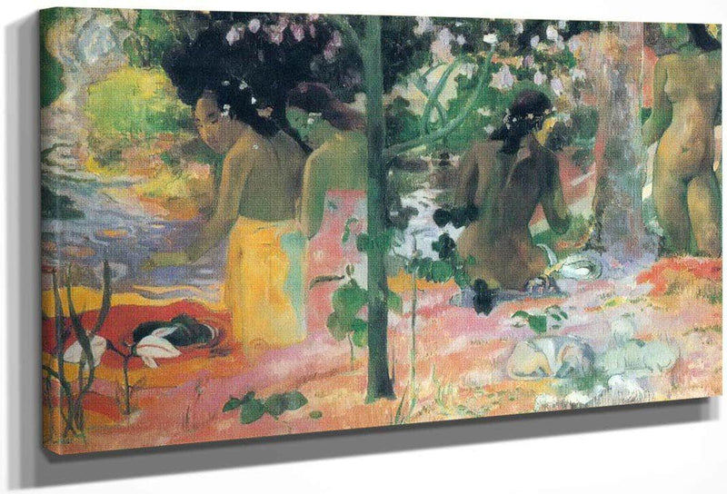 Bathers By Paul Gauguin