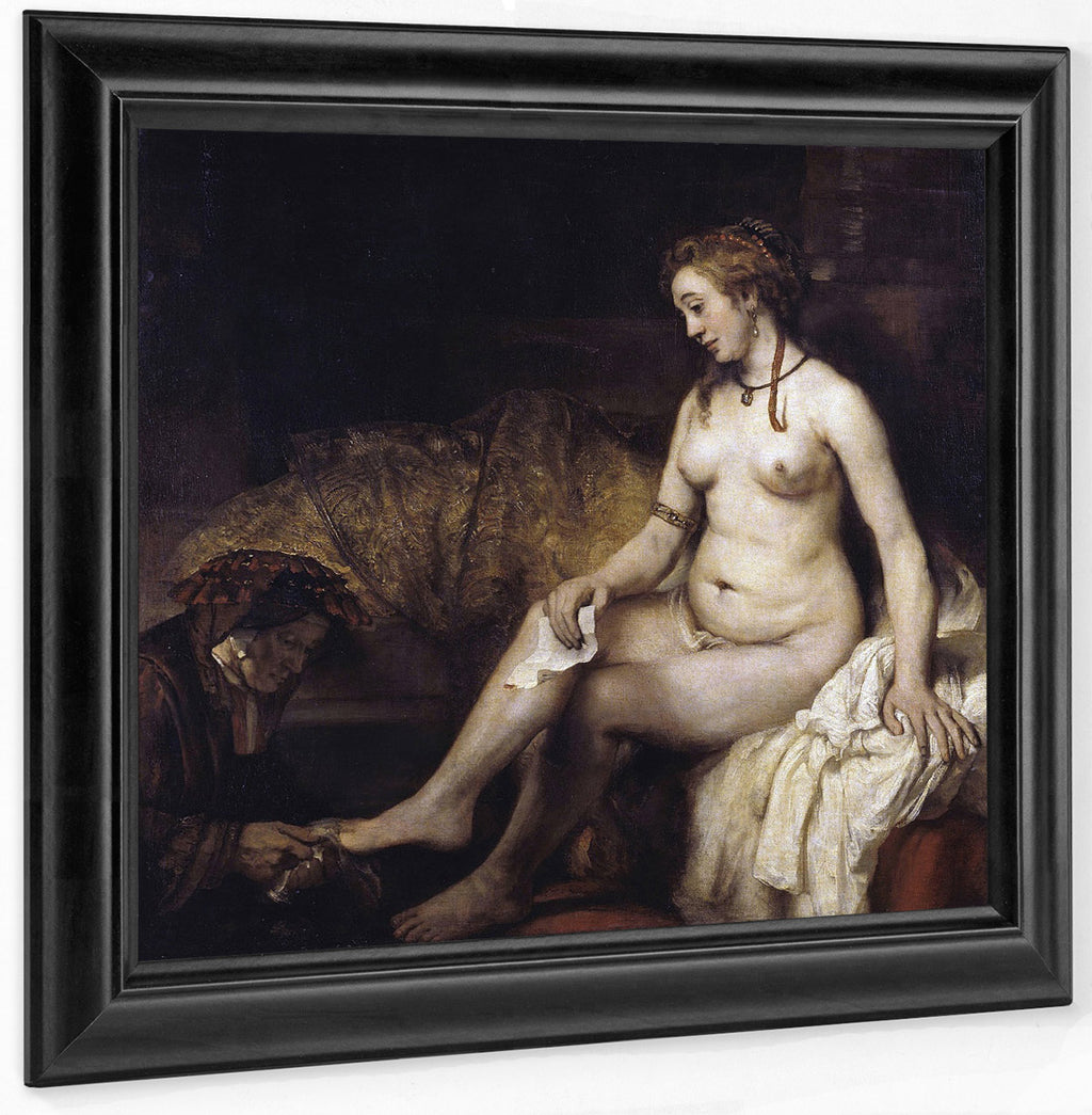 Bathsheba With David's Letter By Rembrandt