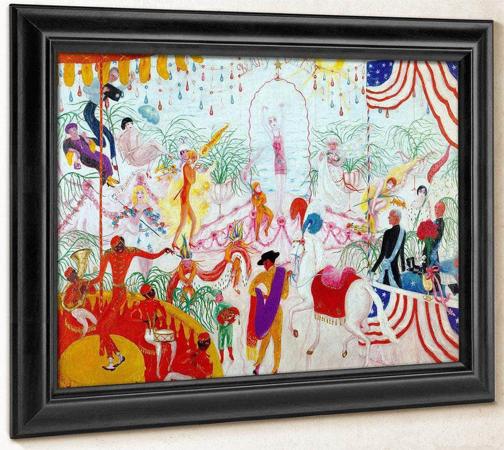 Beauty Contest To The Memory Of Pt Barnum By Florine Stettheimer