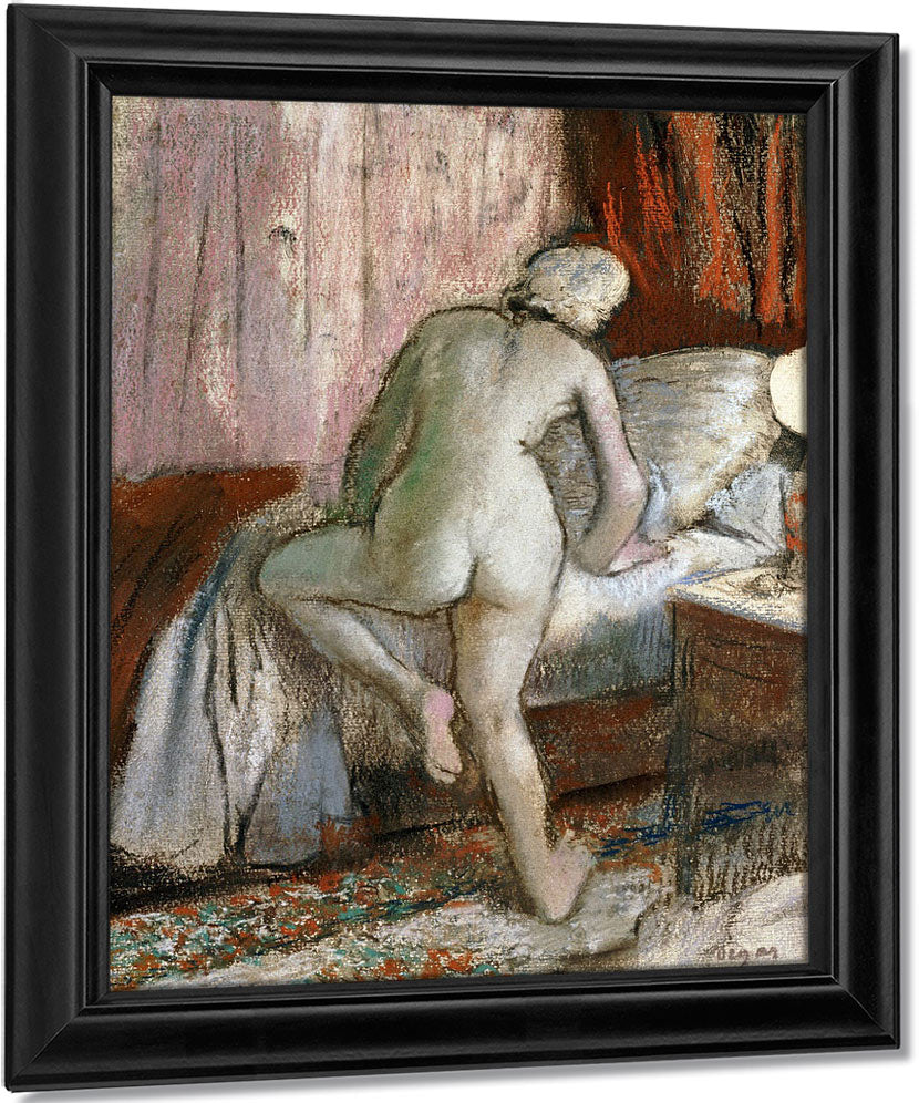 Bedtime By Edgar Degas