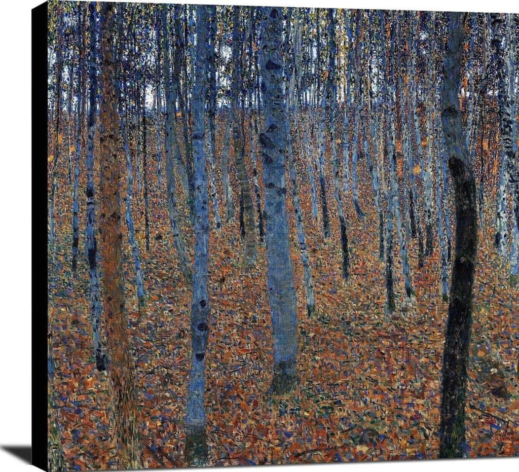 Beech Grove L Painting Gustav Klimt Canvas Art