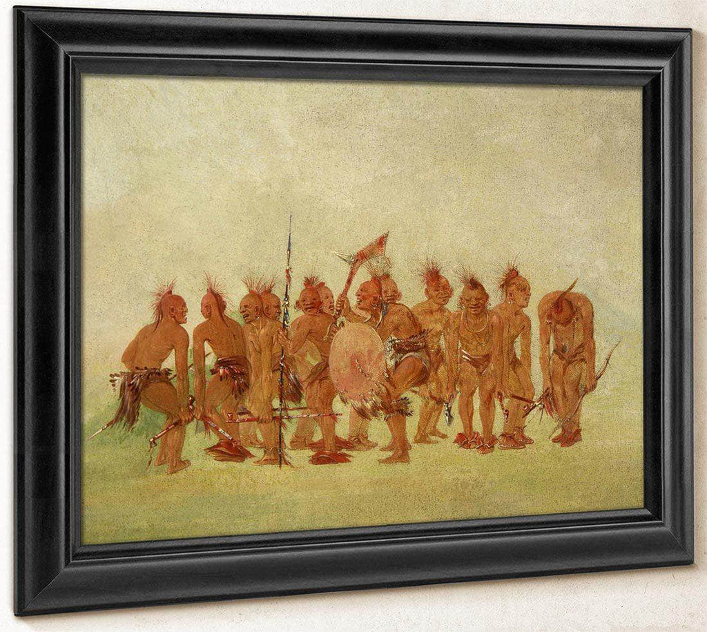 Begging Dance, Sauk And Fox By George Catlin