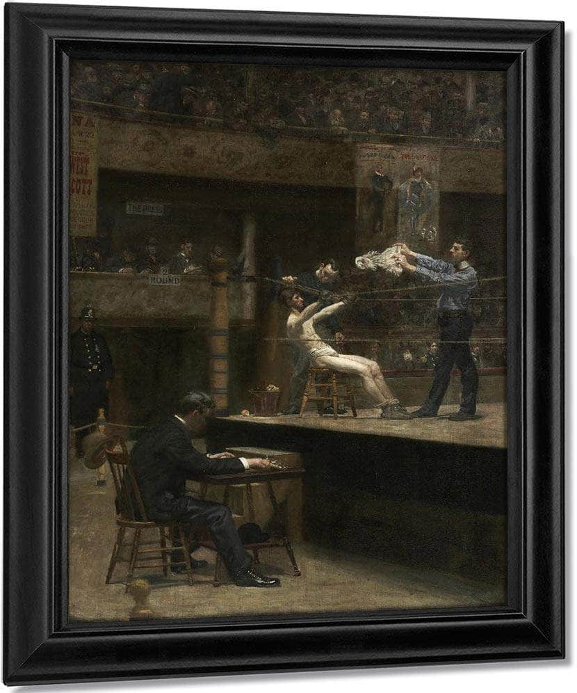 Between Rounds 1899 By Thomas Eakins
