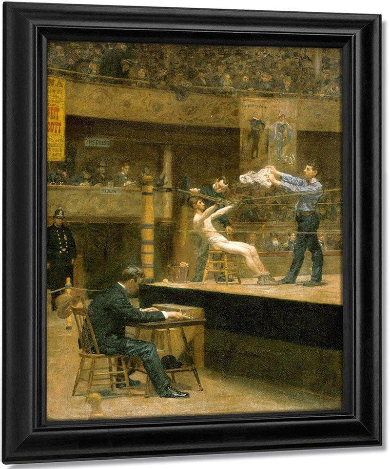 Between Rounds By Thomas Eakins