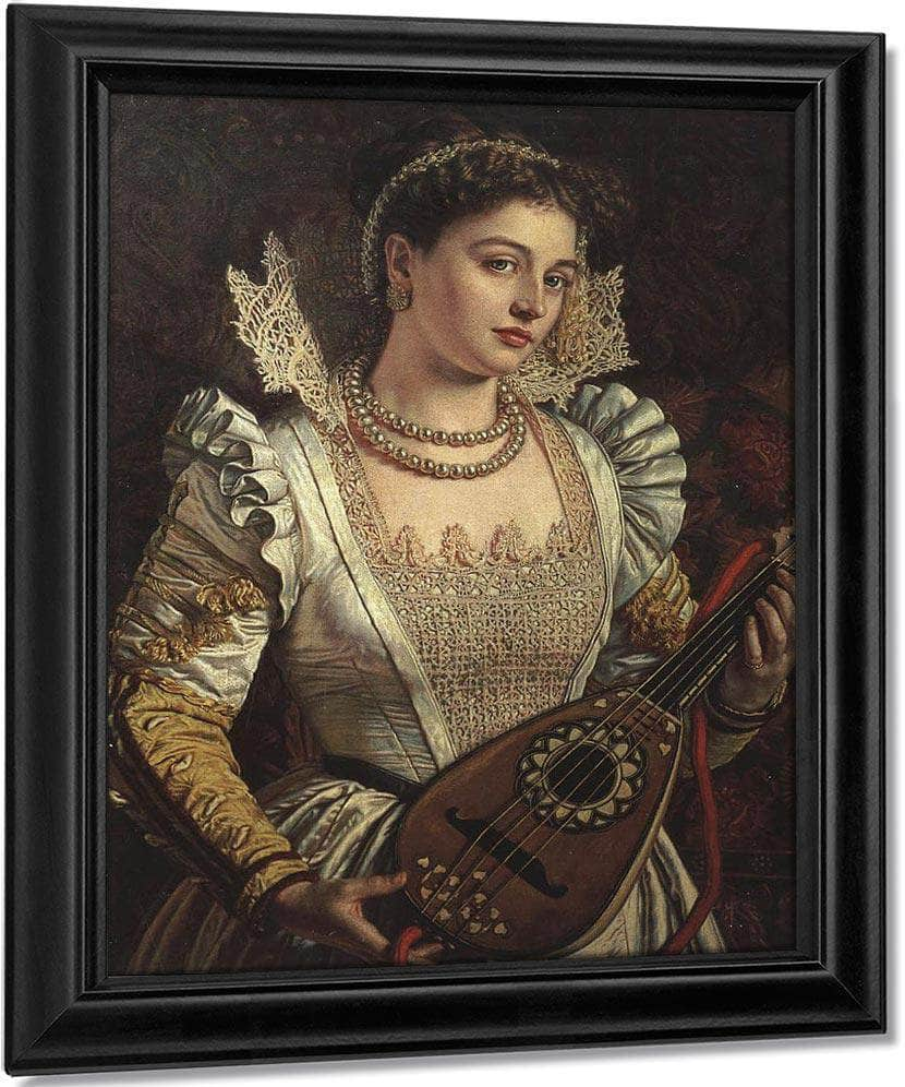 Bianca 1968 1869 Worthing Museum And Art Gallery By William Holman Hunt