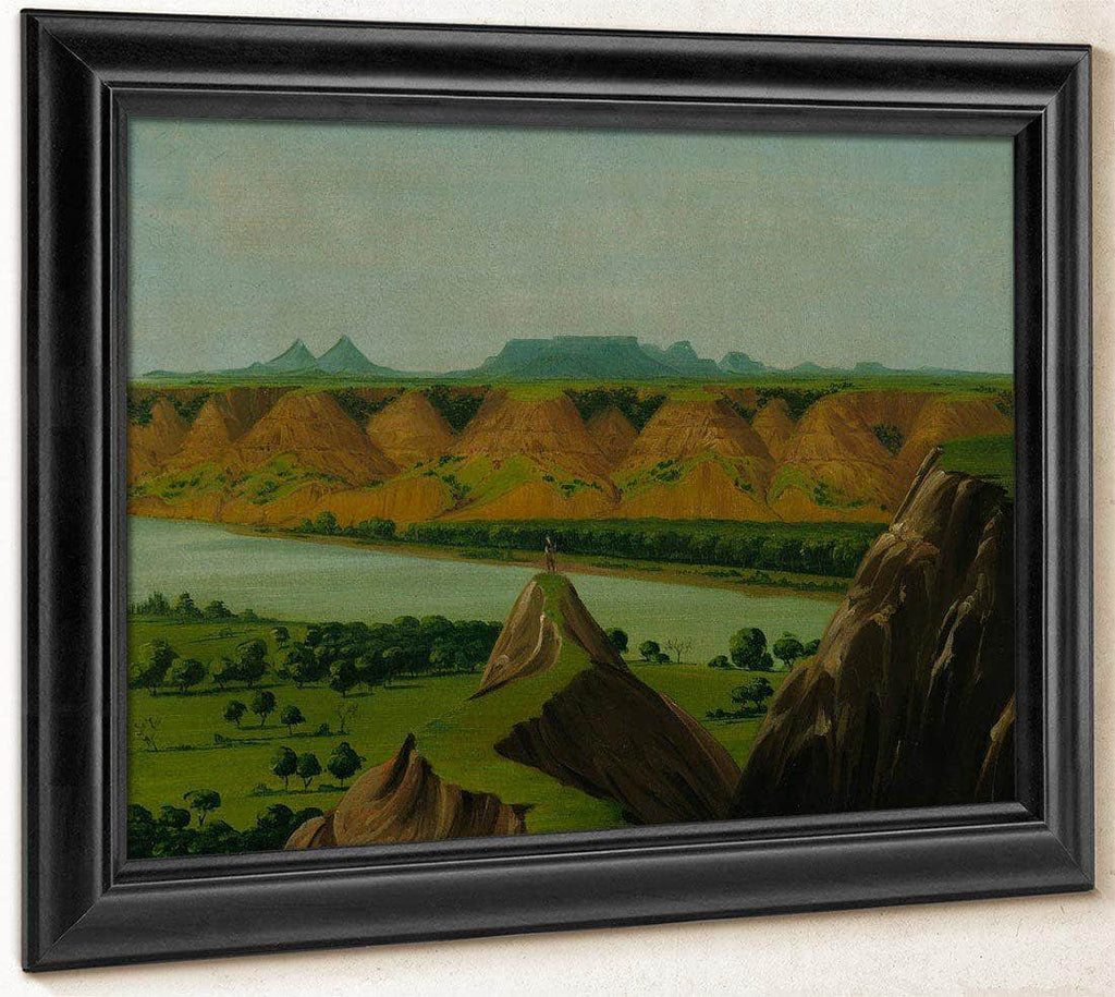 Big Bend On The Upper Missouri, 1900 Miles Above St. Louis By George Catlin
