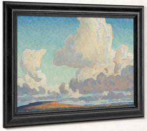 Big Clouds Over The Mesa 1925 By Maynard Dixon