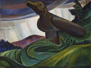Big Raven 1931 By Emily Carr