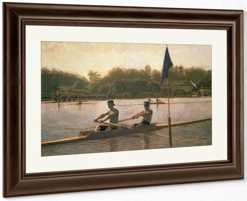 Biglin Brothers Turning The Stake By Thomas Eakins