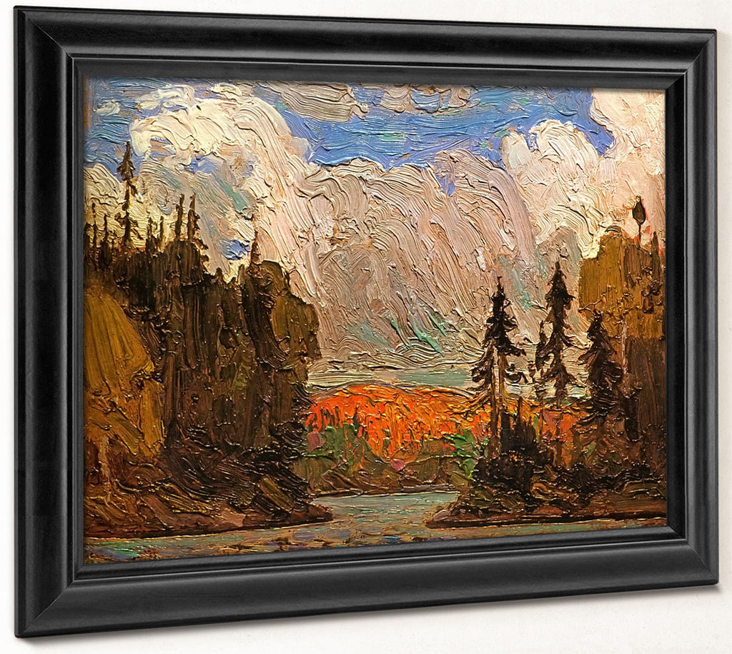 Black Spruce In Autumn By Tom Thomson