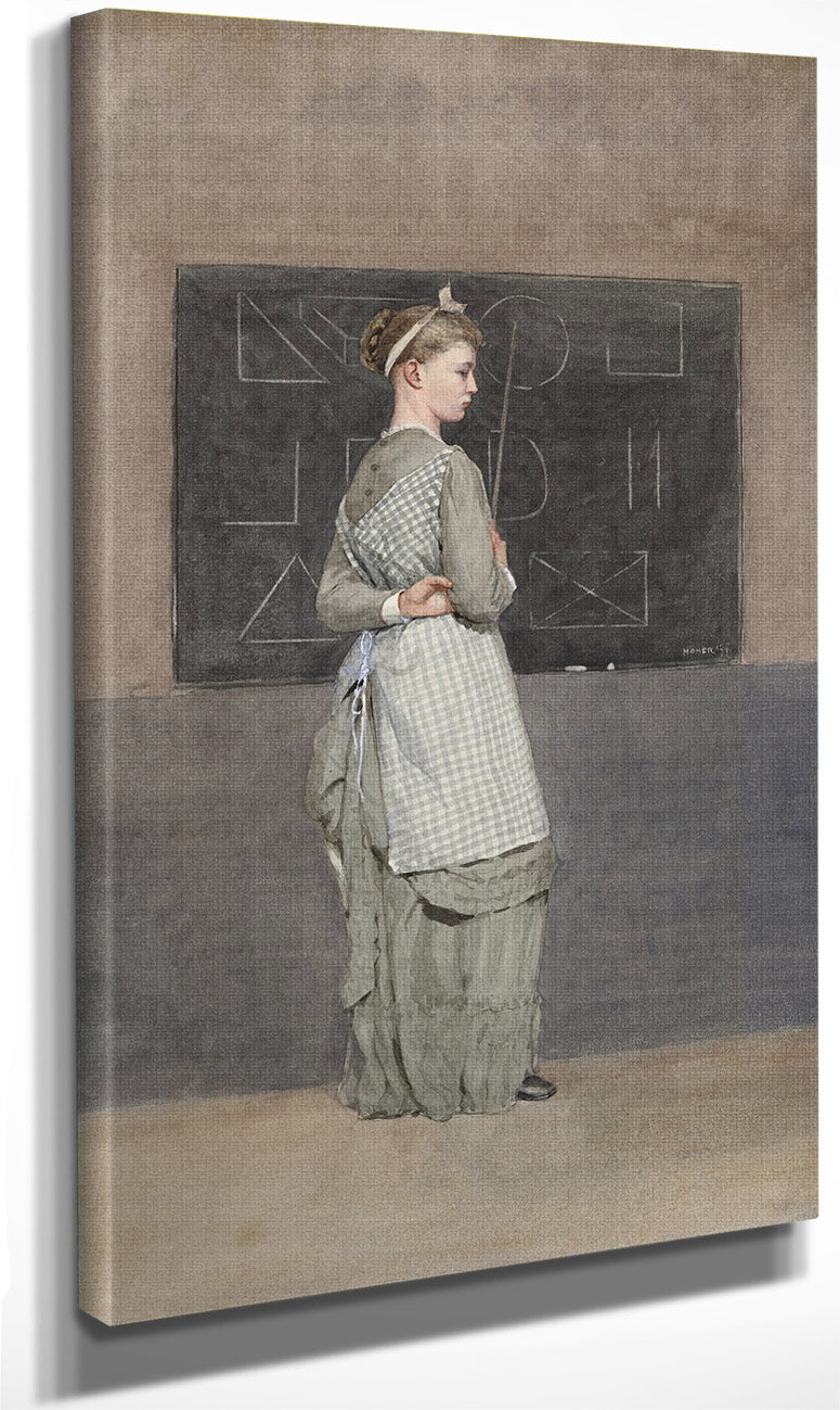 Blackboard By Winslow Homer