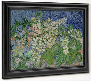 Blossoming Chestnut Branches By Vincent Van Gogh