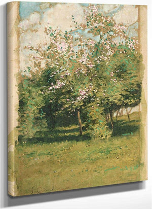 Blossoming Trees By Childe Hassam
