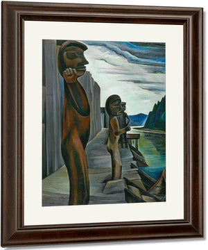 Bluden Harbour By Emily Carr