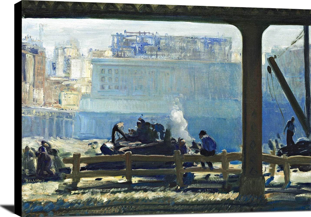 Blue Morning Painting George Wesley Bellows Canvas Art