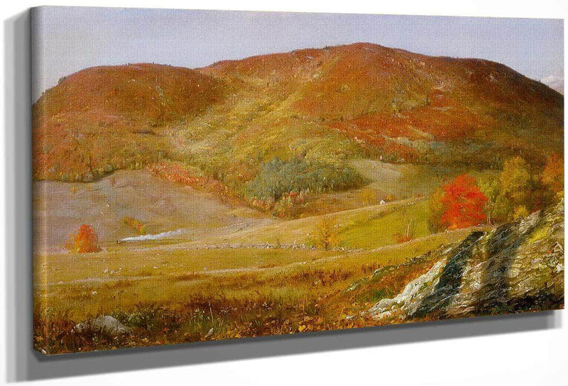 Blueberry Hill Vermont By Frederic Edwin Church