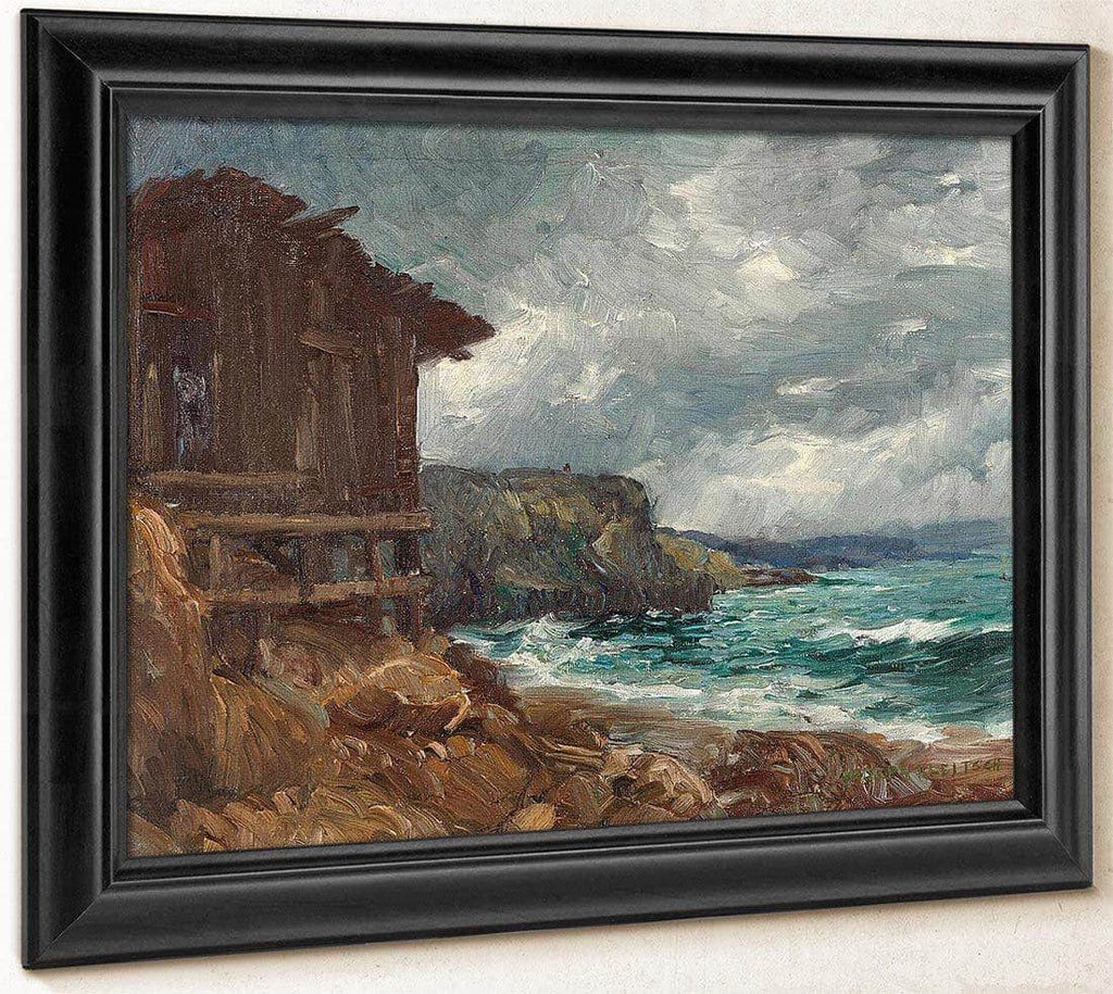 Boathouse At Canyon Cove By Joseph Kleitsch
