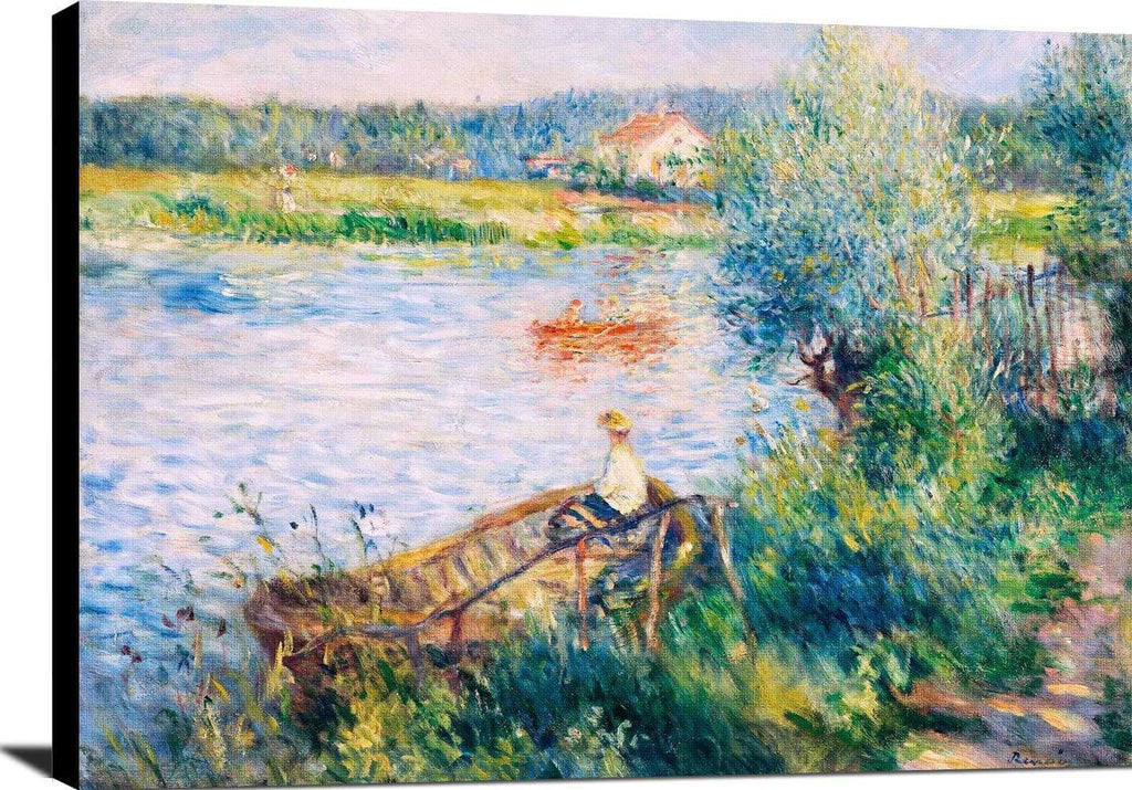 Boating In Bougival Painting Auguste Renoir Canvas Art