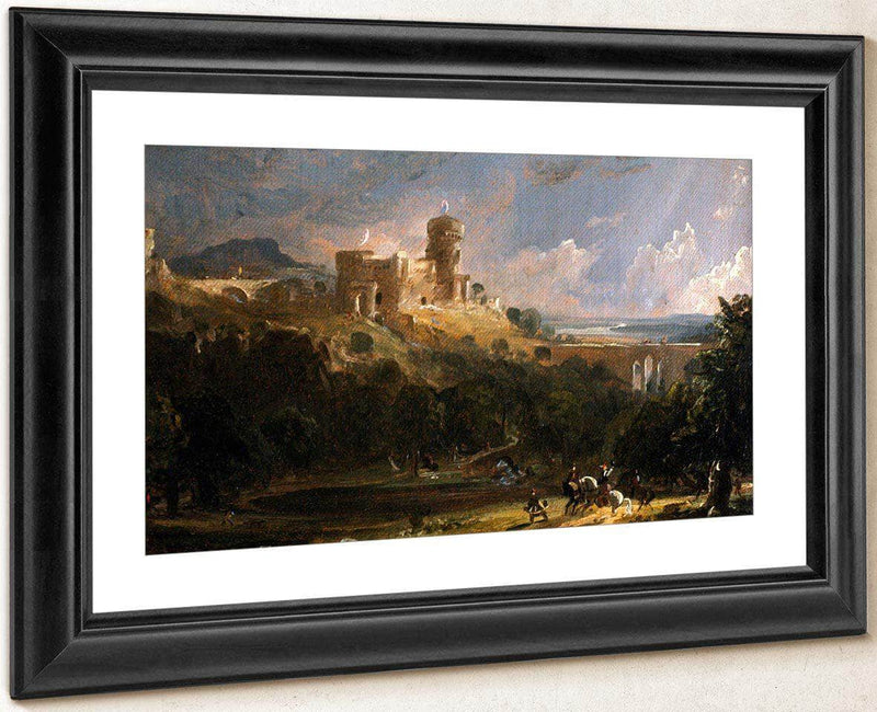 Border Castle By Cropsey Jasper Francis