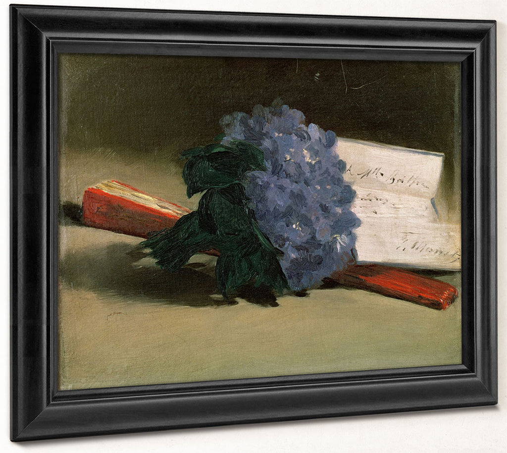 Bouquet Of Violets By Edouard Manet