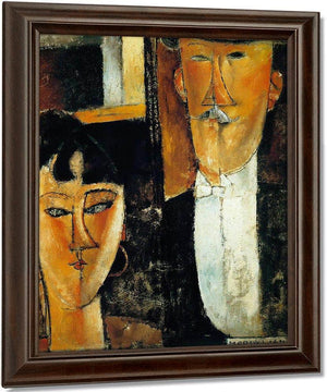Bride And Groom 191516 By Amedeo Modigliani