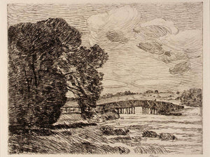 Bridge At Old Lyme By Childe Hassam