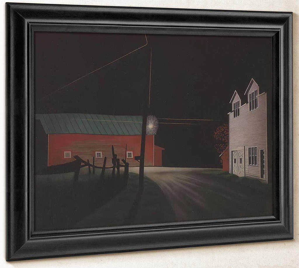 Bright Light At Russells Corners By George Ault