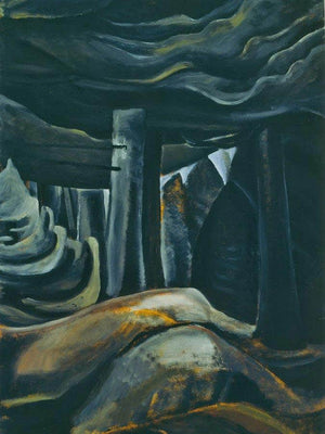 British Columbia By Forest By 1930 By Emily Carr