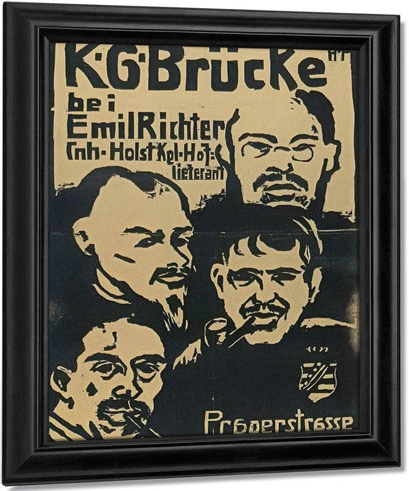 Brucke Artists  Group M9 Max Pechstein