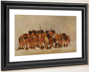 Buffalo Dance, Mandan By George Catlin
