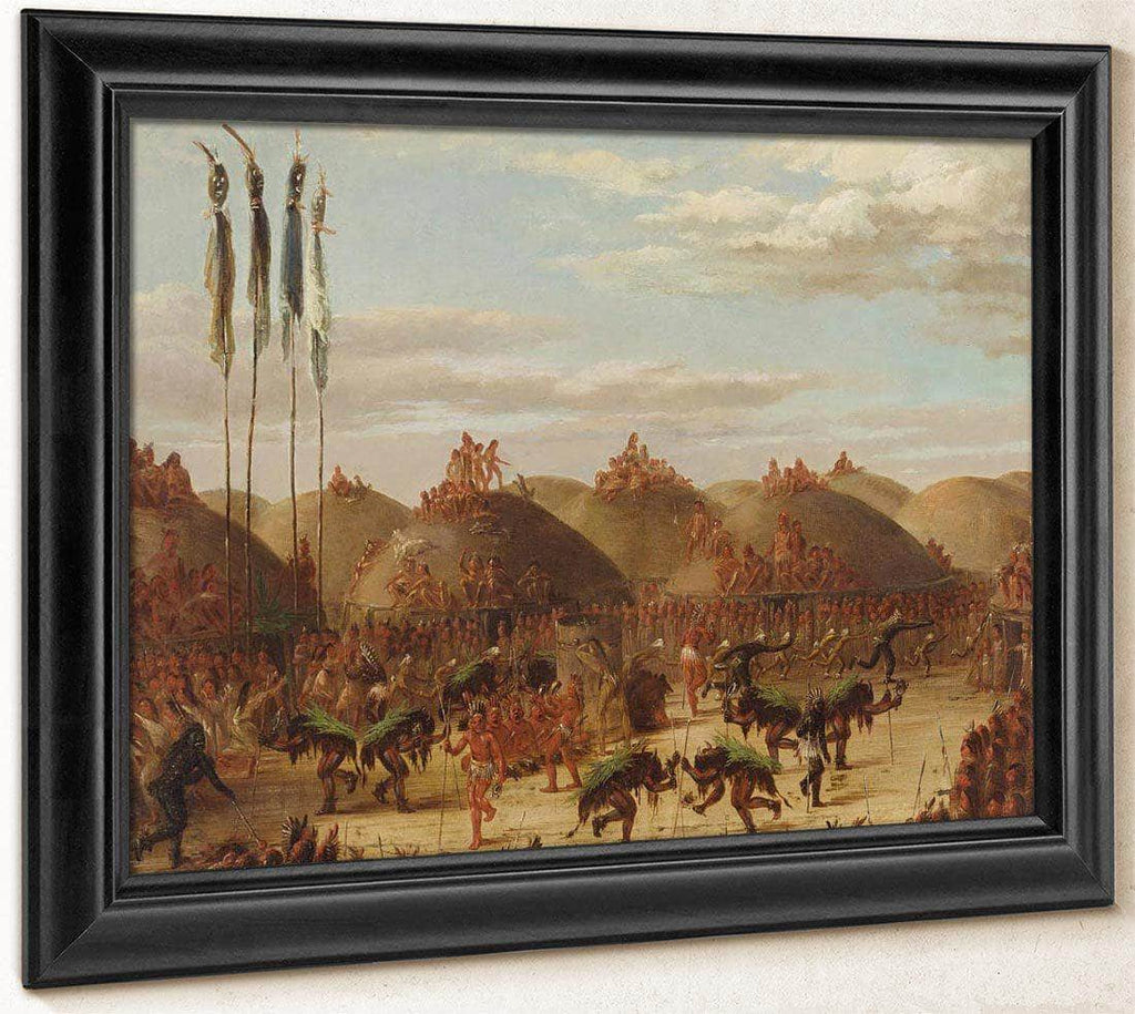 Bull Dance, Mandan O Kee Pa Ceremony By George Catlin