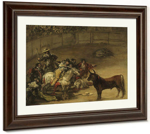Bullfight Suerte De Varas By Francisco De Goya