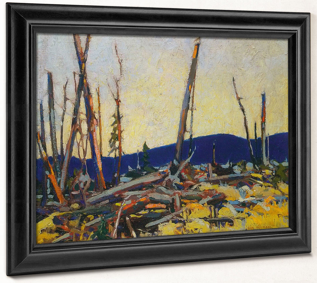 Burnt Land By Tom Thomson
