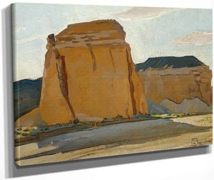 Buttes At Las Vegas Wash By Maynard Dixon