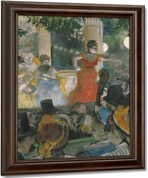 Cafe Concert At Les Ambassadeurs By Edgar Degas