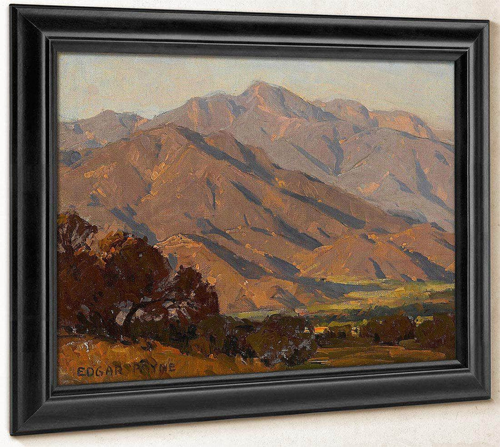 California Hills By Edgar Payne