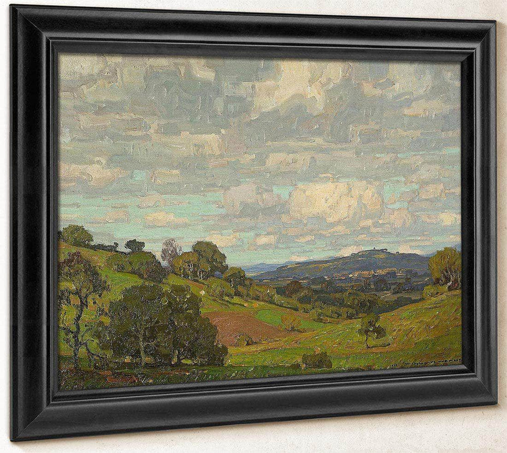 California Landscape 1910 By William Wendt