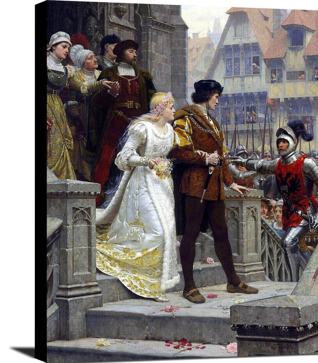 Call To Arms Painting Edmund Blair Leighton Canvas Art