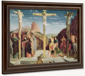 Calvary, After A Painting By Andrea Mantegna (1431 1506) (Oil On Canvas) By Edgar Degas