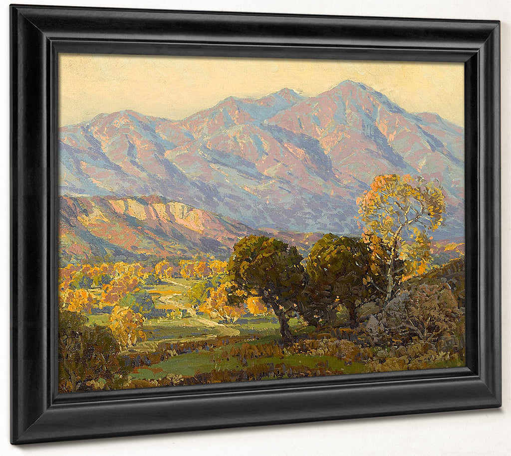 Canyon Mission Viejo, Capistrano By Edgar Payne