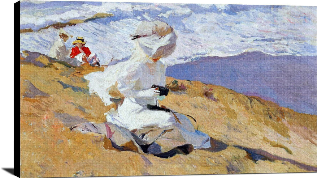 Capturing The Moment Painting Joaquin Sorolla Canvas Art