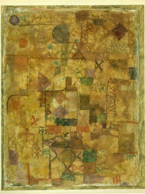 Carpet Of Memory 1914 193 By Paul Klee