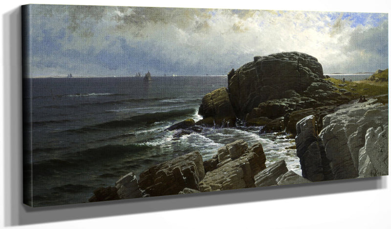 Castle Rock, Marblehead By Alfred Thompson Bricher