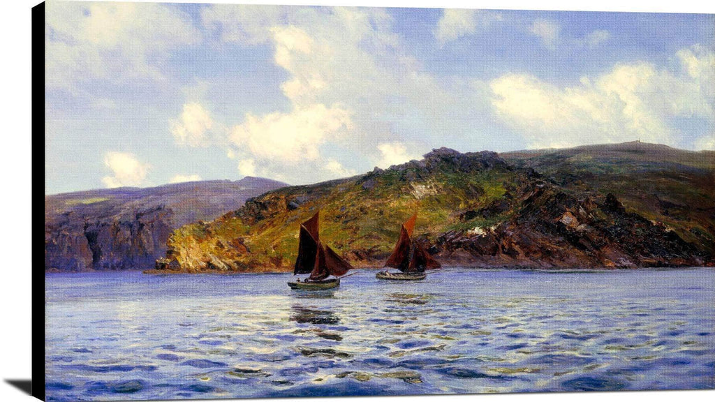 Catspaws Off The Land Painting Henry Moore Canvas Art
